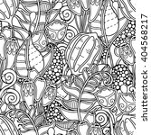 seamless pattern in doodle... | Shutterstock .eps vector #404568217