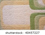 the closeup of carpet texture - stock photo