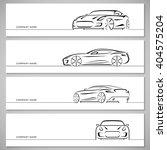 modern sports car vector... | Shutterstock .eps vector #404575204