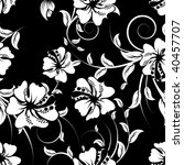 seamless  floral background   Shutterstock . vector #40457707
