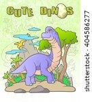 brachiosaurus | Shutterstock . vector #404586277