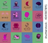 mind icons set   isolated on... | Shutterstock .eps vector #404587891