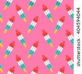 rocket popsicle seamless... | Shutterstock .eps vector #404594044