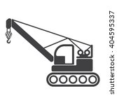 crane icon vector illustration...   Shutterstock .eps vector #404595337