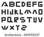 alphabet vector | Shutterstock .eps vector #404596537