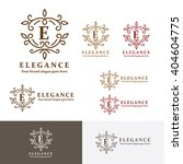 elegance crest letter c logo.... | Shutterstock .eps vector #404604775