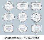 set of vector labels  cutout... | Shutterstock .eps vector #404604955