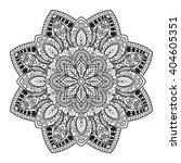 mandala. ethnic decorative... | Shutterstock .eps vector #404605351