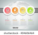 design infographic template 4... | Shutterstock .eps vector #404606464
