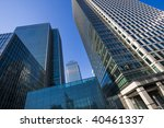 skyscrapers at canary wharf ... | Shutterstock . vector #40461337