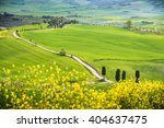 place for spring travels in... | Shutterstock . vector #404637475