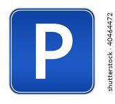 illustration of cars parking... | Shutterstock . vector #40464472