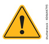 danger  sign. exclamation point.... | Shutterstock .eps vector #404644795