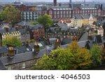 cityscape over edinburgh in... | Shutterstock . vector #4046503