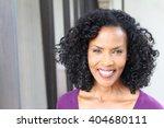 gorgeous senior african... | Shutterstock . vector #404680111