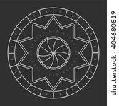 sacred geometry in light grey... | Shutterstock .eps vector #404680819