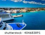 Cruise Ship Docked In Nassau...
