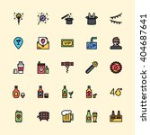 party icons | Shutterstock .eps vector #404687641