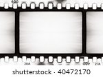 empty film strip  may use as a... | Shutterstock . vector #40472170
