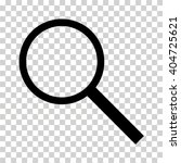 magnifying glass icon | Shutterstock .eps vector #404725621