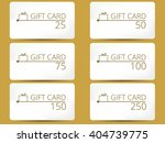 gift card with a gift box set