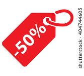 50  off tag. red color.... | Shutterstock .eps vector #404744605