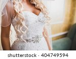 wedding dress | Shutterstock . vector #404749594