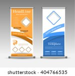 roll up banner abstract... | Shutterstock .eps vector #404766535