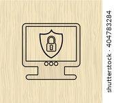 security system design    Shutterstock .eps vector #404783284