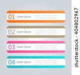 business infographics template...   Shutterstock .eps vector #404802967