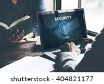 security safety data protection ... | Shutterstock . vector #404821177