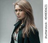 fashion studio portrait of a... | Shutterstock . vector #404830621