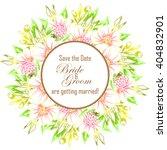 vintage delicate invitation...   Shutterstock . vector #404832901