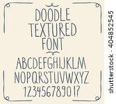 decorative set of  sketchy... | Shutterstock .eps vector #404852545