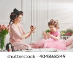 happy loving family. mother and ... | Shutterstock . vector #404868349