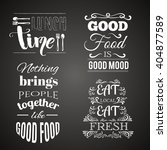 collection of  quote... | Shutterstock .eps vector #404877589