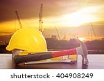 labor day tools and equipment... | Shutterstock . vector #404908249