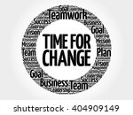 time for success circle word... | Shutterstock .eps vector #404909149