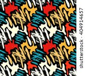 grunge colored graffiti... | Shutterstock .eps vector #404914657
