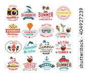 vintage summer design and... | Shutterstock .eps vector #404927239