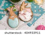 sweet easter multicolored baby...   Shutterstock . vector #404933911