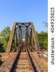 railway viaduct in thailand | Shutterstock . vector #404935825