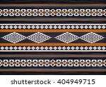geometric ethnic oriental ikat... | Shutterstock .eps vector #404949715
