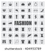 fashion icons set | Shutterstock .eps vector #404953789