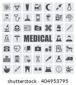 medical icons set | Shutterstock .eps vector #404953795