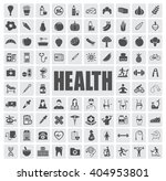 health icons set | Shutterstock .eps vector #404953801
