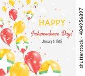 myanmar independence day... | Shutterstock .eps vector #404956897