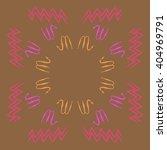 circular pattern of zodiac... | Shutterstock . vector #404969791