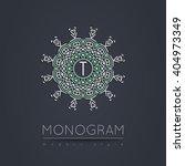 elegant linear abstract... | Shutterstock .eps vector #404973349