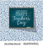 teachers day. school doodles...